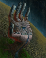 Acrylic on Illustration Board